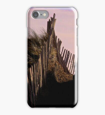Eroding Fenceline Westward Ho! iPhone Case/Skin