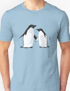 Cute Christmas Penguins T-Shirt