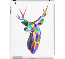 Coloured Faceted Stag Trophy Head iPad Case/Skin