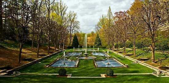 The Italian Garden at Longwood by cclaude