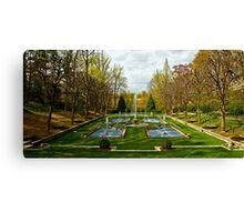 The Italian Garden at Longwood Canvas Print