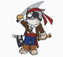Pira cat (chat pirate) One Piece - Long Sleeve