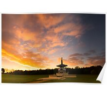 Peace at Sunset Poster