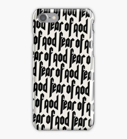 Fear of God design iPhone Case/Skin