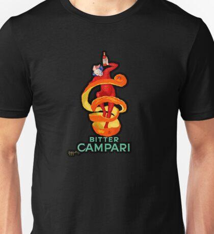 """Art Deco """"Bitter Campari"""" Illustration by Leonetto Cappiello Unisex T-Shirt"""