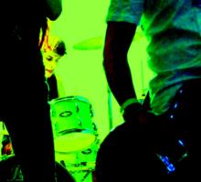 Green Garage Gig Sticker