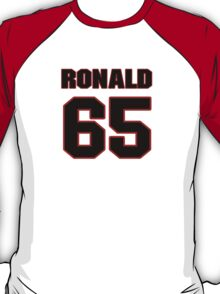 NFL Player Ronald Leary sixtyfive 65 T-Shirt