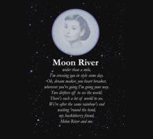Moon River Poster + T-shirt Kids Clothes