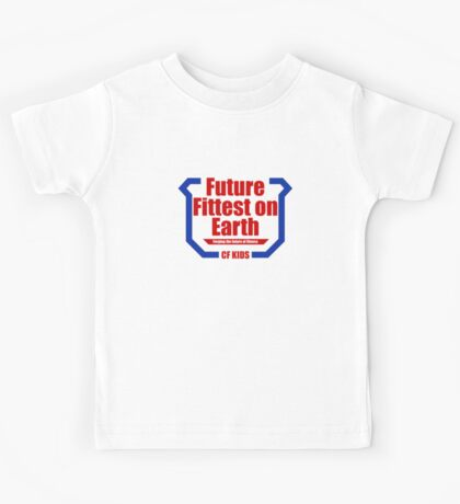 Future Fittest on Earth Kids Tee
