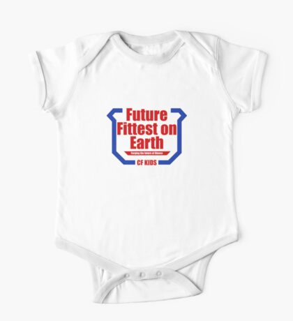 Future Fittest on Earth One Piece - Short Sleeve