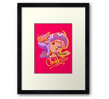 Chopper!!! Framed Print