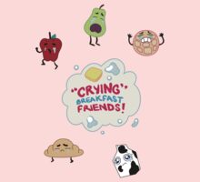 """Crying"" Breakfast Friends! // Steven Universe Kids Clothes"