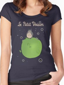 Le Petit Voisin (The Little Neighbour) Women's Fitted Scoop T-Shirt