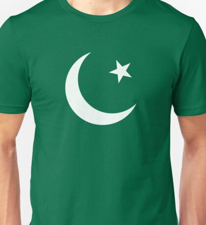 Crescent and Star flag Unisex T-Shirt