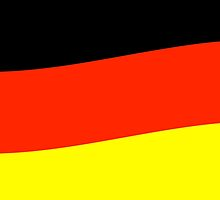 German Flag by Zack Kalimero