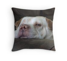 Maxie, the Dozer Throw Pillow