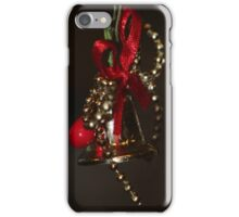 Christmas bell iPhone Case/Skin