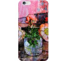 ONLY THE FLOWERS iPhone Case/Skin