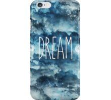 Dream in Blue Space iPhone Case/Skin