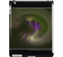 Effects of Light & Motion on Columbine Landscape Poster iPad Case/Skin