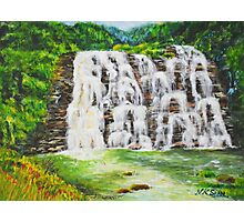 Abbey Waterfalls, Coorg India Photographic Print
