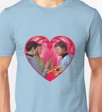 Spock, Kirk and Bones Unisex T-Shirt