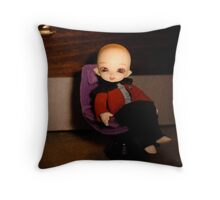 Cute Captain Throw Pillow