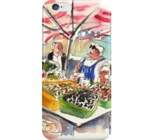 Olive Sellers In Siracusa iPhone Case/Skin