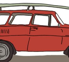 surfs up! Sticker