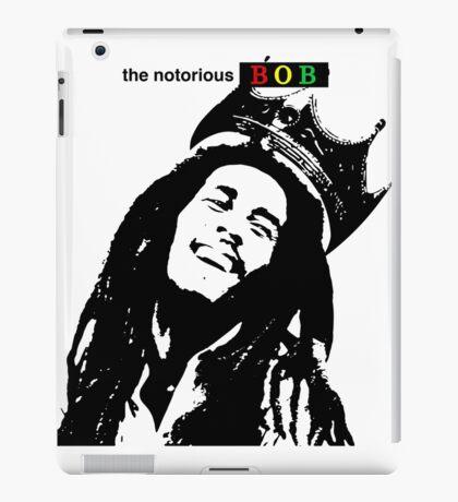 Bob Marley - The Notorious BOB  iPad Case/Skin