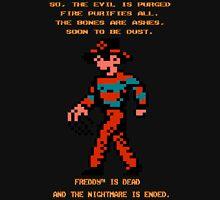 FREDDY Nightmare on Elm Street 8-bit NES Unisex T-Shirt