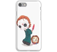 chucky michael myers iPhone Case/Skin