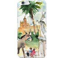By The Cathedral In Palermo iPhone Case/Skin