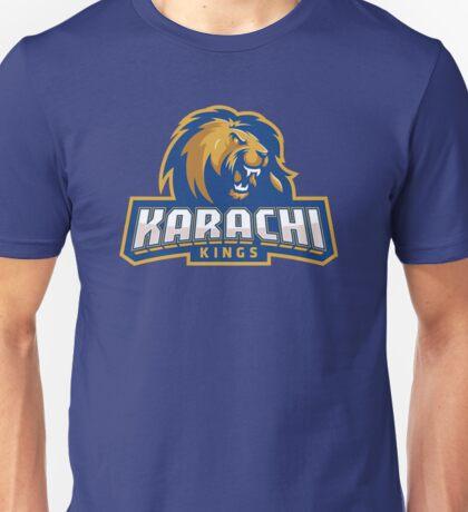 Karachi Kings cricket logo Unisex T-Shirt