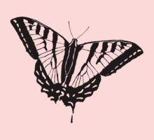 Butterfly Clear Kids Tee
