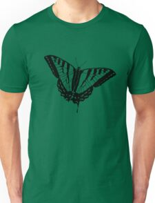 Butterfly Clear Unisex T-Shirt