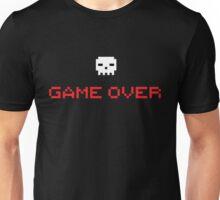 Game Over Skull Unisex T-Shirt