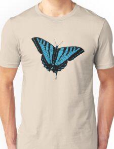 Butterfly - Blue Unisex T-Shirt