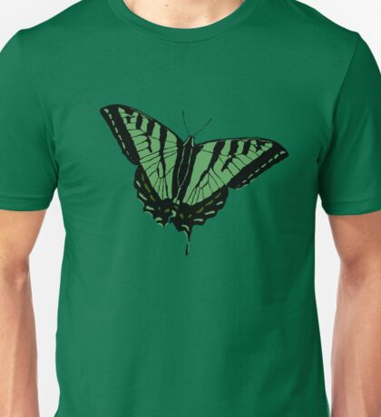 Butterfly - Green Unisex T-Shirt