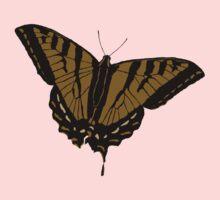 Butterfly - Brown Kids Tee