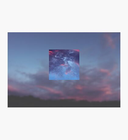 Purple Haze, Distorted Skies Photographic Print