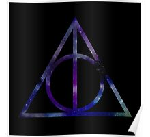 Harry Potter and the Deathly Hallows // triangle Poster