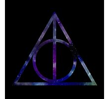 Harry Potter and the Deathly Hallows // triangle Photographic Print