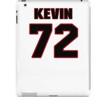 NFL Player Kevin Hughes seventytwo 72 iPad Case/Skin