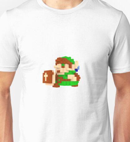 Link Voxel Amiibo Art Unisex T-Shirt