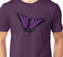 Butterfly - Purple Unisex T-Shirt