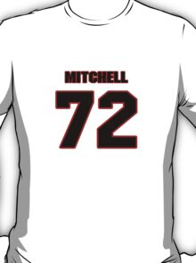 NFL Player Mitchell Schwartz seventytwo 72 T-Shirt