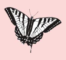 Butterfly - White Kids Tee