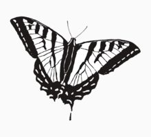 Butterfly - White Kids Clothes