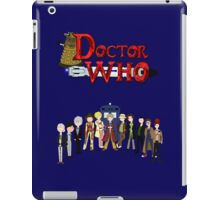 Doctor Who Time iPad Case/Skin